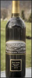 Petit Verdot 2010 Bottle
