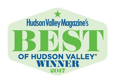 Best of Hudson Valley Winner 2017
